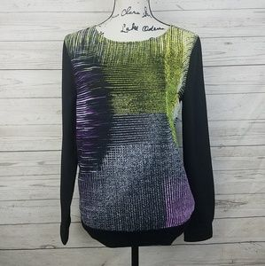 Calvin Klein Jeans Abstract Pattern Long Sleeve